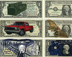 art for crisis.                     my money my currency by hanna von goeler.