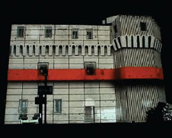 mapping: transforming architecture with video projections
