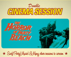 double session I: the horror beach party